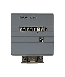 THEBEN Cuenta horas BZ 142 3 10V 157 Sin retorno a cero 2 mod. mod. DIN p/ carril DIN