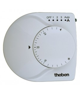 THEBEN Controladores de temperatura RAM 713 KNX FAN-COIL 487