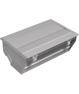 BACHMANN CONFERENCE Caja de montaje pequeña, gris plateado