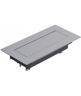 BACHMANN TOP FRAME Caja de montaje pequeña, con marco exterior simétrico, RAL9006