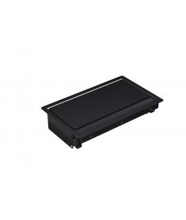BACHMANN CONI Caja de montaje pequeña, negro