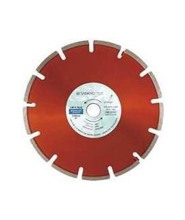 SANKYO Disco para rozadoras, materiales abrasivos y asfalto diametro 150 eje 22 mm