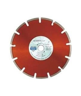 SANKYO Disco para rozadoras, materiales abrasivos y asfalto diametro 180 eje 22 mm
