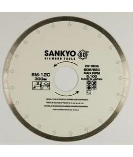 SANKYO Disco para ceramica y marmol, corte con agua diametro 200 eje 25 mm