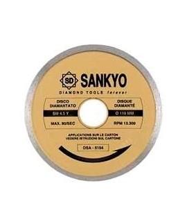 SANKYO Disco para ceramica y marmol, corte con agua diametro 225 eje 30 mm