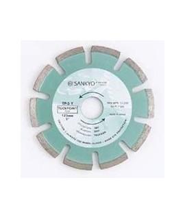 SANKYO Herramientas especiales para juntas de cemento diametro 115 eje 22 mm