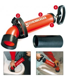 Bomba desatascadora ROPUMP SUPER PLUS Rothenberger