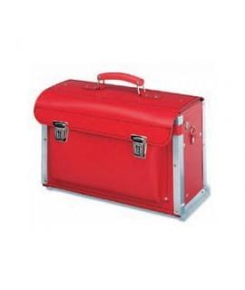 Cimco Maletin cuero reforzado Rojo con portadocumentos