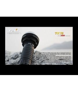 Linternas Fénix TK75 2600 Lúmenes 3 Leds Cree XM-L(U2), 6 modos