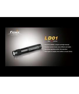 Linternas Fénix LD01 85 lumens Cree XP-E LED (R2), 3 modos