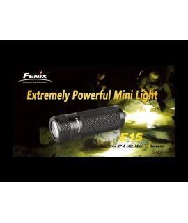 Linternas Fénix E15 140 Lumens Led Cree XP-E, 3 modos