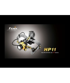 Linternas Fénix HP11 277 lumens XP-G R5, 7 modos. Incluye difusor