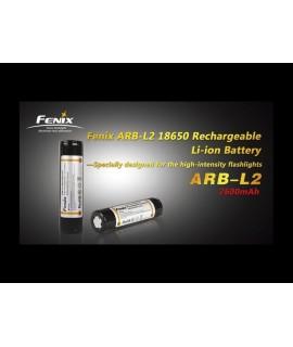 Linternas Fénix Pila recargable 18650 Li-Ion Fénix 3.6V 2600 mAh