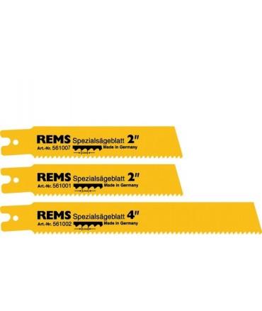 "REMS 5 hojas de sierra especial 4"""