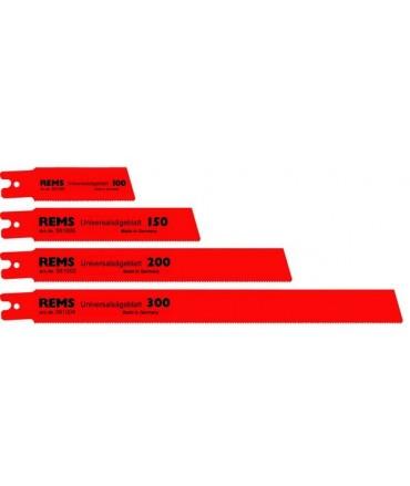 REMS 5 hojas de sierra universal 100