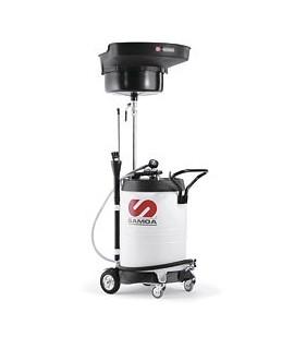 SAMOA Aspirador para aceite combinado 100 l con pre-cámara de vacío
