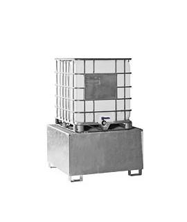 Cubeto anticontaminación para un contenedor normalizado de 1.000 l SAMOA