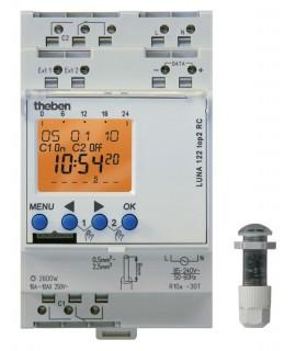 THEBEN Interruptores crepusculares carril DIN LUNA 122 top2 RC Emp 151