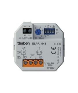 THEBEN Minuteros de escalera ELPA 041 151 Montaje en caja univ. Regulacion 30 a 20 electr. multifuncion multitension 16 A