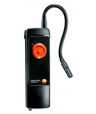 Testo Detector electrónico de fugas de gas con sonda testo 316-1