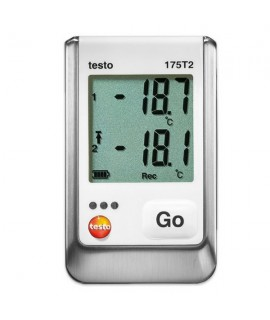 Testo Registrador de temperatura de 2 canales testo 175 T2