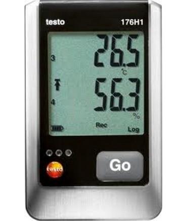 Testo Registrador de humedad y temperatura de 4 canales testo 176 H1