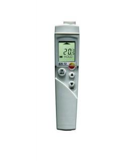 Testo Termómetro de infrarrojos con 1 indicador láser testo 826 T2 con topsafe