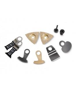 Fein Set de accesorios para saneamiento de baldosas/baños