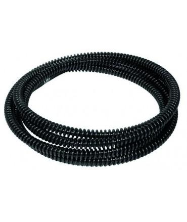 REMS Espiral desatascadora de tubo con alma de plástico 22 × 4,5 m