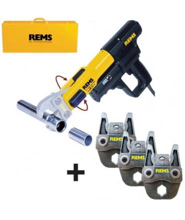 REMS Mini-Press ACC Li-Ion Basic con 3 REMS Tenazas prensar Mini