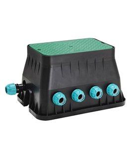 Arqueta equipada con electrovalvulas 24V