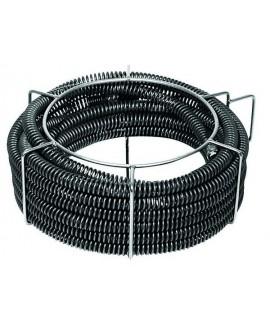 REMS 4 Espirales desatascadoras de tubo 32 x 4,5 m en portaespirales para tubo Ø 50-250 mm