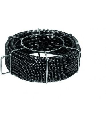 REMS 4 Espirales desatascadoras de tubo con alma de plástico 32 × 4,5 m
