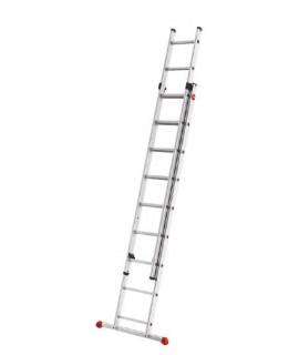 Escalera corredera de dos tramos 9 peldaños