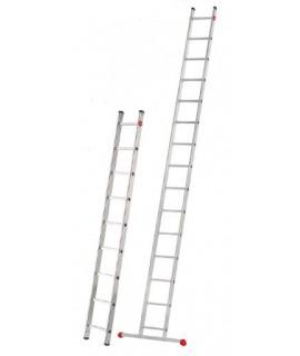 Escalera de un tramo de 12 peldaños