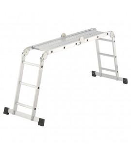 Escalera de Aluminio combinada 4x3 Hailo