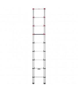 Escalera de Aluminio Telescópica 9 escalones Hailo