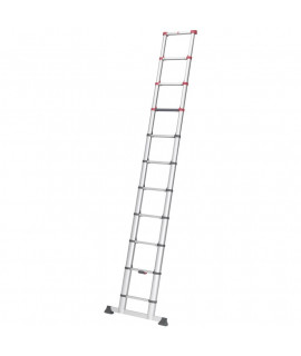 Escalera de Aluminio Telescópica 11 escalones Hailo