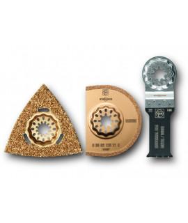 Set de accesorios instalaciones sanitarias FEIN 3 piezas