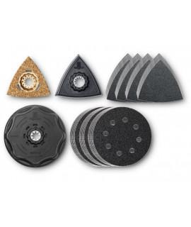 Set de accesorios Lija FEIN 61 Piezas