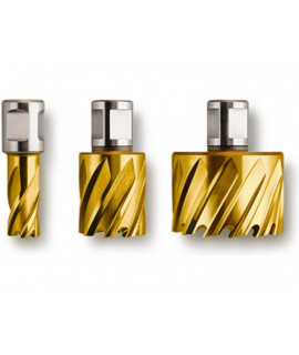 Coronas perforadoras HSS Dura 25 3/4 in Weldon FEIN