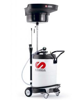 SAMOA Aspirador para aceite usado combinado 100 L