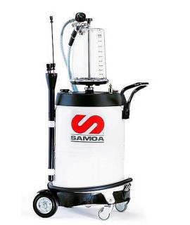 SAMOA Aspirador para aceite usado con pre-cámara de vacío 100 L