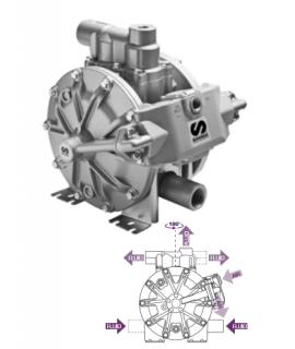 Bomba Neumática de Membrana DP200 para diesel SAMOA