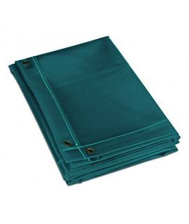Pantalla protectora separadora verde