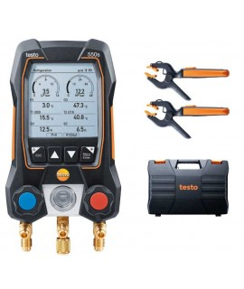 Analizador de refrigeración testo 550 set smart