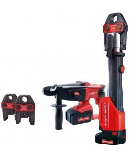 ROMAX 4000 Mordazas U + martillo perforador