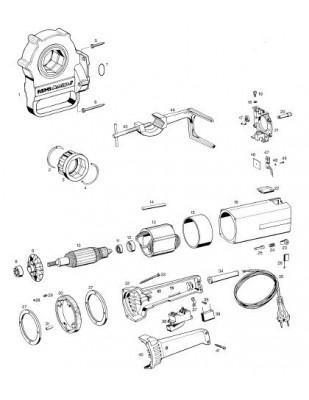 REMS Interruptor montado con corrie