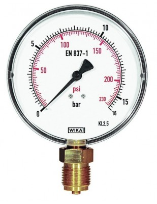 REMS Manómetro escala fina 16 bar