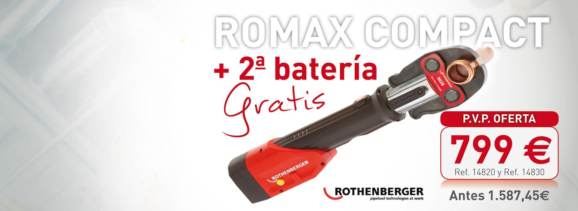 Romax Compact + segunda batería